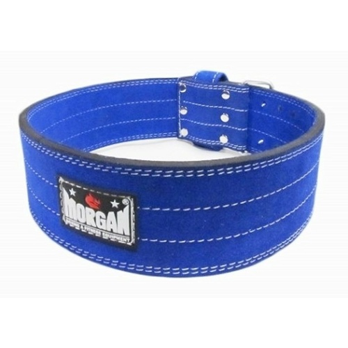 MORGAN QUICK RELEASE SUEDE LEATHER WEIGHT BELT