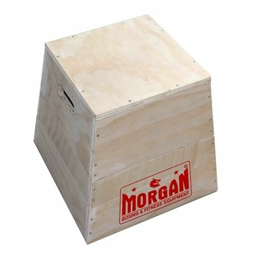 MORGAN 3 IN 1 TRAPEZIA WOODEN PLYO BOX