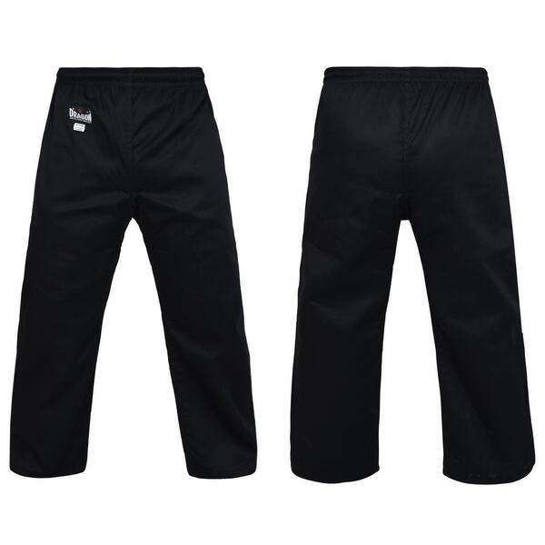 DRAGON BLACK Gi PANTS (8oz)