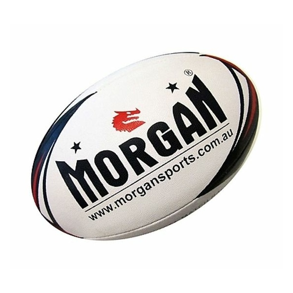 MORGAN MATCH 4-PLY RUGBY LEAGUE BALL