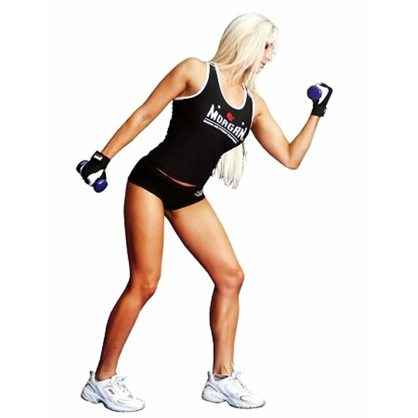 MORGAN LADIES TRAINING SINGLET - DRYFIT LYCRA
